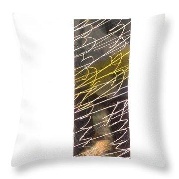 Abstrait 7 Throw Pillow