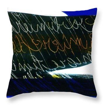 Abstrait 8 Throw Pillow