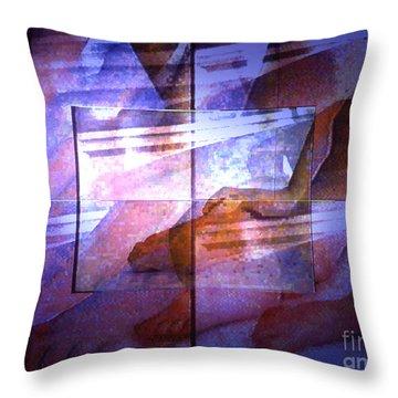 Abstrait3 Throw Pillow