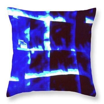 Abstrait4 Throw Pillow