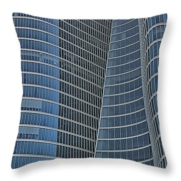 Abu Dhabi Investment Authority Throw Pillow by Steven Richman