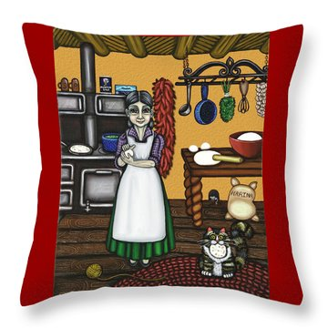 Abuelita Or Grandma Throw Pillow