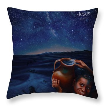 Abundance Throw Pillow by Ann Holder