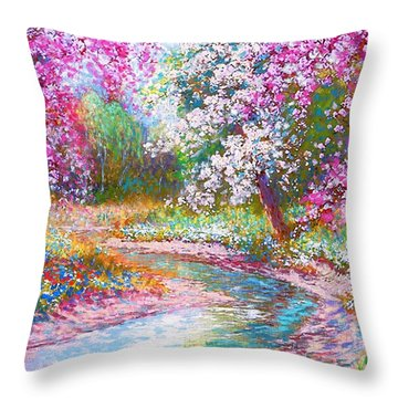 Abundant Love Throw Pillow