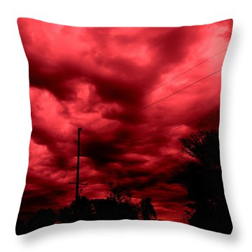 Abyss Of Passion Throw Pillow