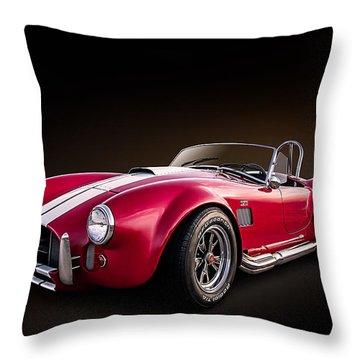 Ac Cobra Throw Pillow by Douglas Pittman