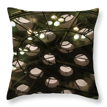 Academy Skylights Throw Pillow
