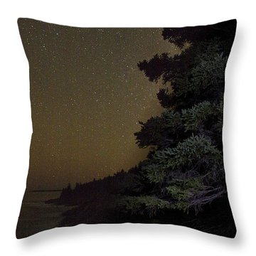 Acadia Stars 01 Throw Pillow by Brent L Ander