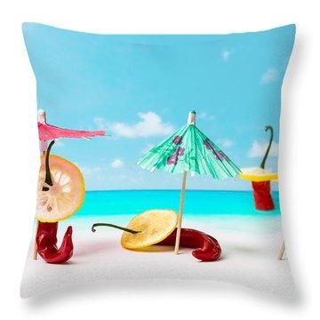Acapulco Throw Pillow by Alexander Senin