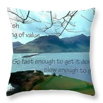 Accomplish Value 21168 Throw Pillow