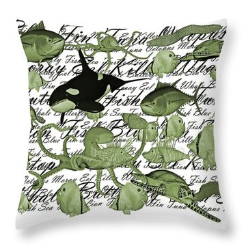 Accord Throw Pillow by Betsy Knapp