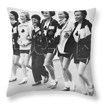Aces Rowing Club Team Throw Pillow