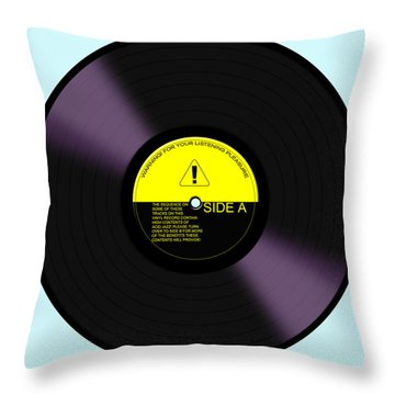 Acid Jazz Throw Pillow