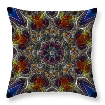 Acid Rock 1 Throw Pillow