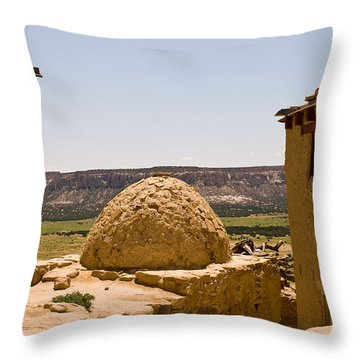 Acoma Oven Throw Pillow