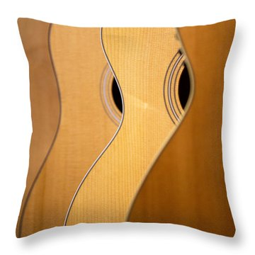 Throw Pillow featuring the photograph Acoustic Design by John Rivera