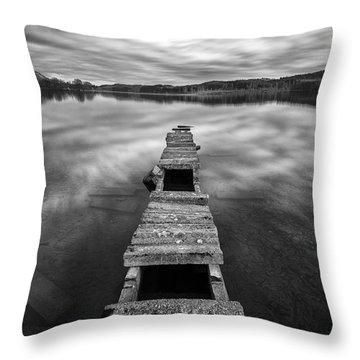 Across Throw Pillow by John Farnan