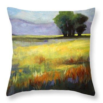 Central Oregon Throw Pillows