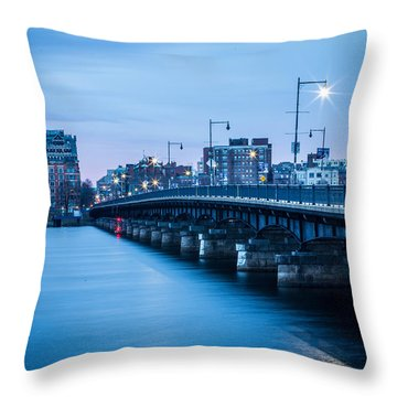 Across The River Throw Pillow