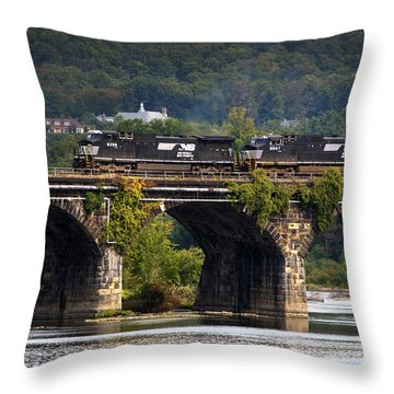 Across The Rockville Throw Pillow by Paul W Faust -  Impressions of Light