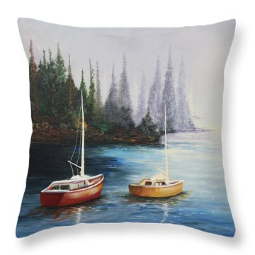 Acrylic Msc 110  Throw Pillow