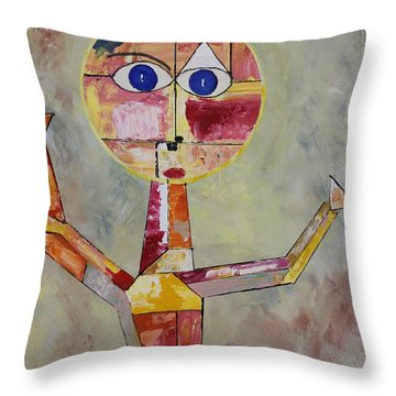 Acrylic Msc 175  Throw Pillow