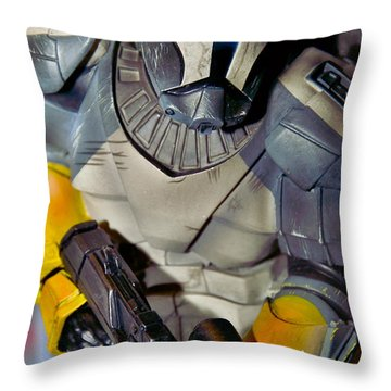 Action Toy Throw Pillow