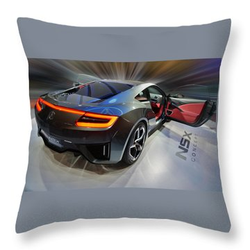 Acura N S X  Concept 2013 Throw Pillow