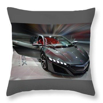 Acura Nsx Concept 2013 Throw Pillow