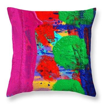 Ad Libitum Throw Pillow by John  Nolan