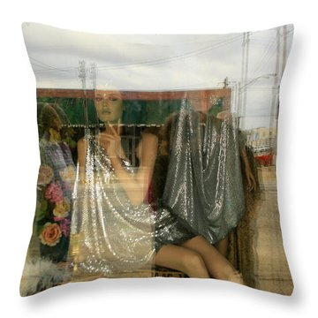 Ada Oklahoma Throw Pillow