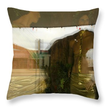 Ada Window Throw Pillow