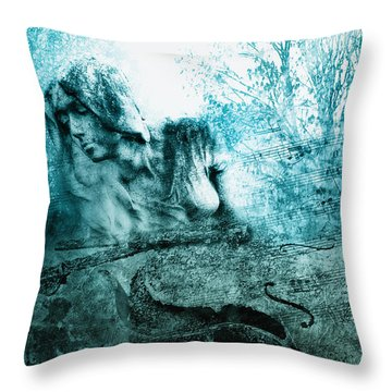 adagio for a broken dream II Throw Pillow by Joachim G Pinkawa