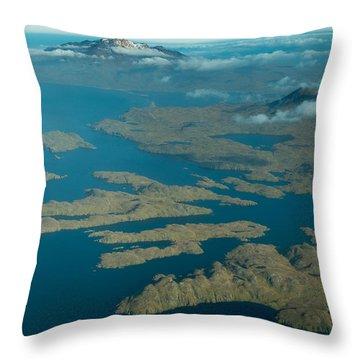 Adak Bay Of Islands Throw Pillow