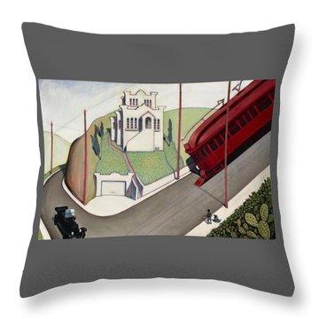 Adams Hill Throw Pillow
