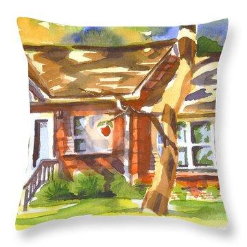 Adams Home Throw Pillow