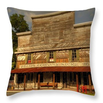 Adams Old Country Store Throw Pillow