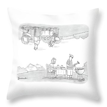 Add Your Own Caption Week #292 Throw Pillow