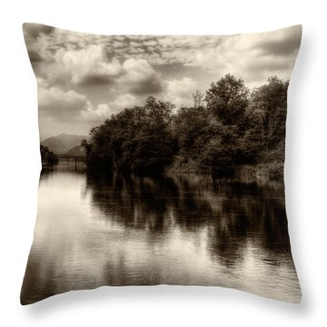 Adda River 2 Throw Pillow