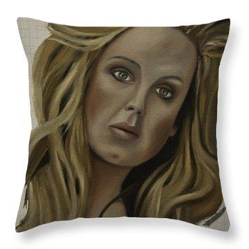 Adele Throw Pillow