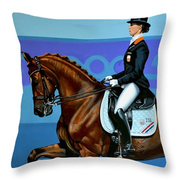 Adelinde Cornelissen On Parzival Throw Pillow
