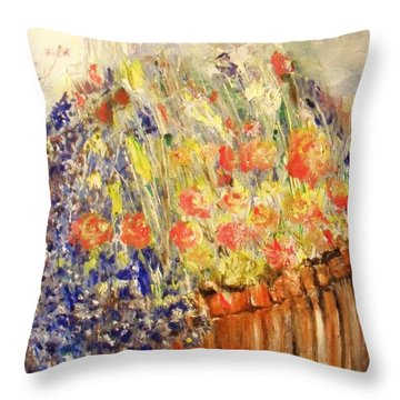 Adirondack Floral Throw Pillow