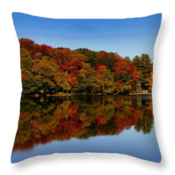 Adirondack October Throw Pillow