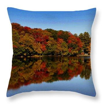 Adirondack October Throw Pillow