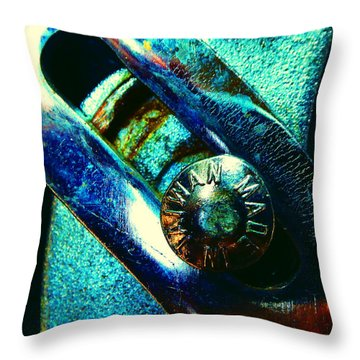 Adjustable Wrench P Throw Pillow