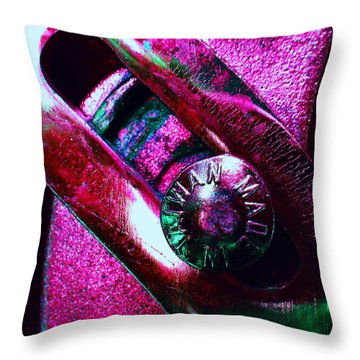 Adjustable Wrench R Throw Pillow