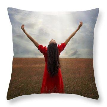 Admiration Throw Pillow by Joana Kruse