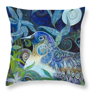 Admiration Throw Pillow by Leela Payne