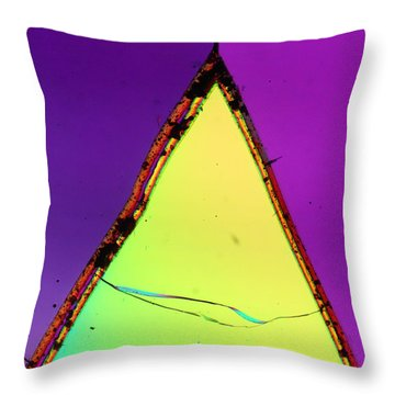 Fractured Faith Throw Pillow