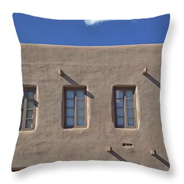 Adobe Architecture II Throw Pillow